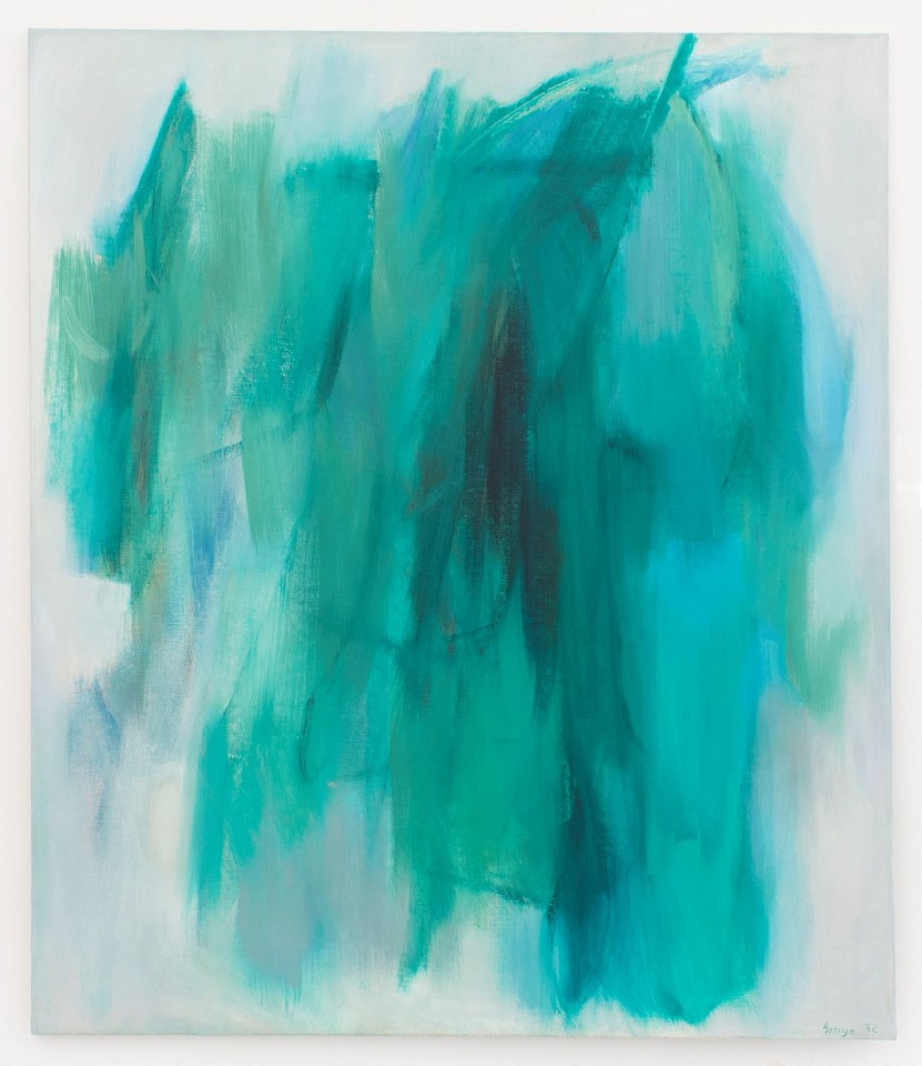 Cleve Gray ,   Hemera  ,  1962     oil on canvas ,  70 x 60 in. (177.8 x 152.4 cm)     CG160402